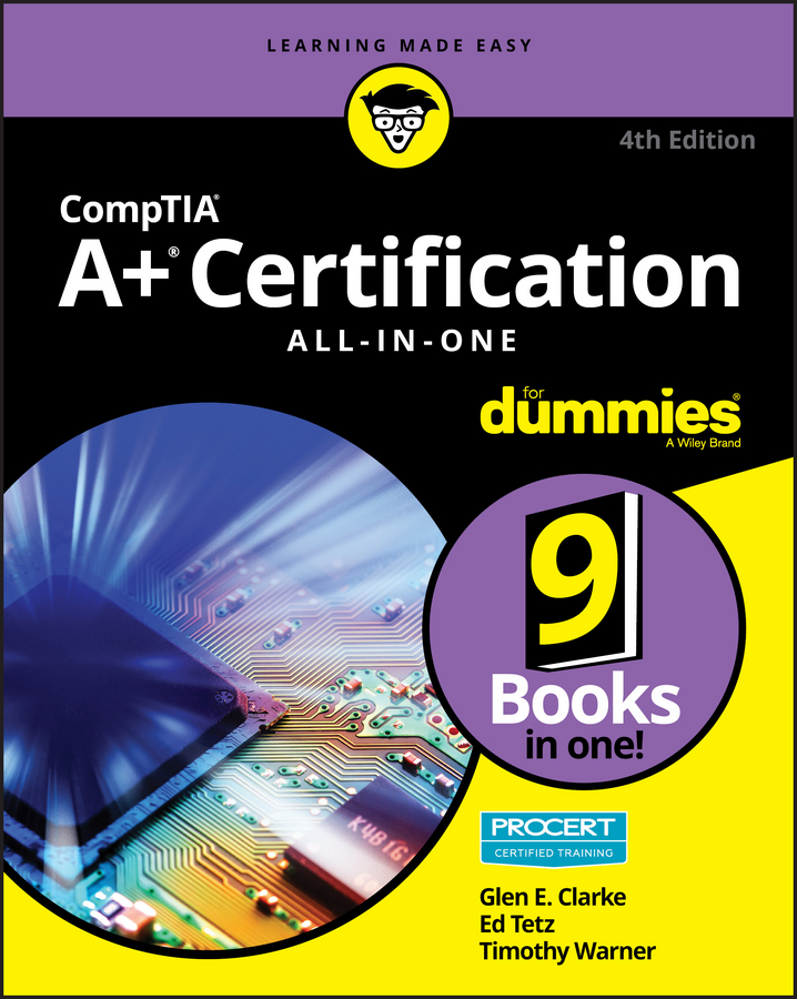 CompTIA A+ certification all-in-one for dummies cover image